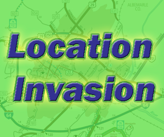 Location Invasion: Find out where we'll be next