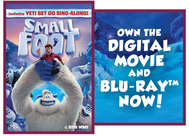 "Enter to win the Digital Download for ""SMALLFOOT"""